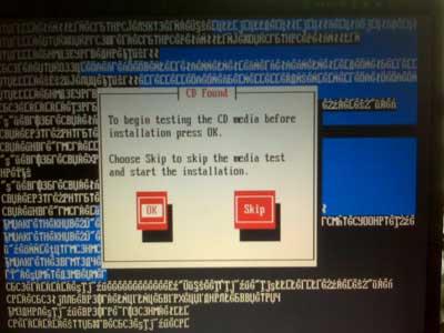 Fedora7 installing on a Sony VAIO XG19