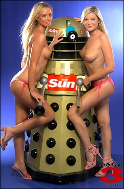 Page 3 Girls w/Dalek