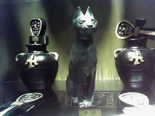 Rick Brant egyptian cat